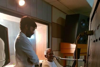 Ilaiyaraaja sings for Dhanush starrer Maari 2
