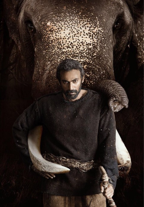 Rana Daggubati sports a new look in the First Look poster of Haathi Mere Saathi