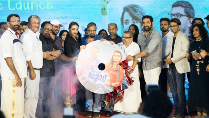 Photos: Nivin Pauly and Trisha Krishnan attend the audio launch of 'Hey Jude'