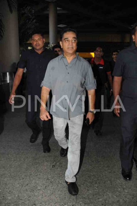 Airport Diaries: Kamal Haasan spotted at the airport in Mumbai