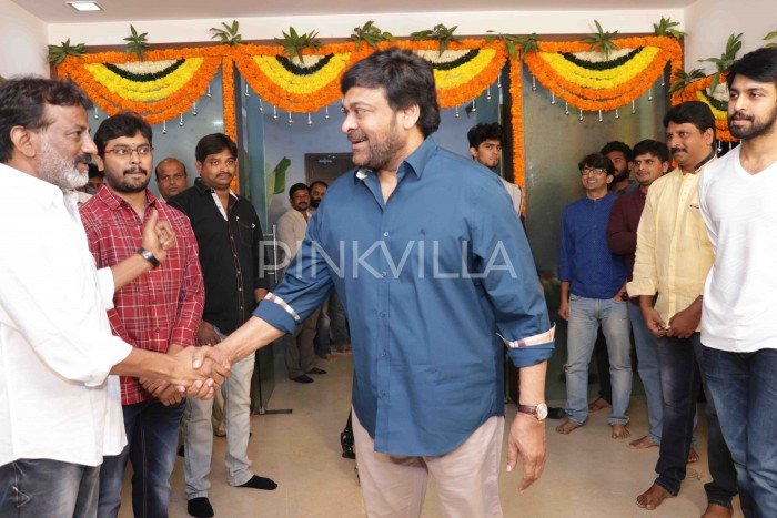 Photos: Chiranjeevi's son-in-law, Kalyaan Dhev's film gets officially launched today