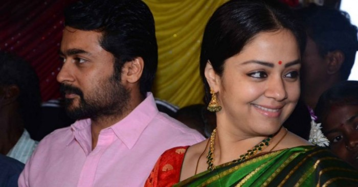 Did Deepika Padukone Act With Jyothika In A South Indian: Photos: Suriya And Jyothika Make A Classy Couple As They