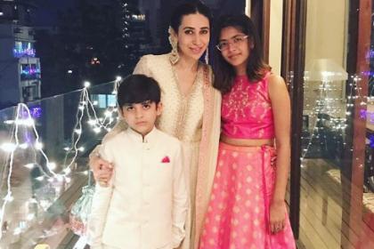 करिश्मा कपूर के बच्चे फिलहाल अपने पिता संजय कपूर के साथ बिता रहे हैं छुट्टी