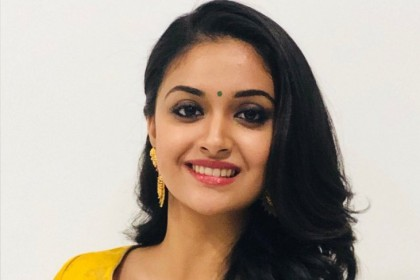 Photos: Keerthy Suresh aces the traditional look as she attends an event