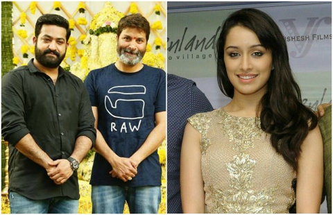 Shraddha Kapoor signed on for Jr NTR's film with Trivikram Srinivas?
