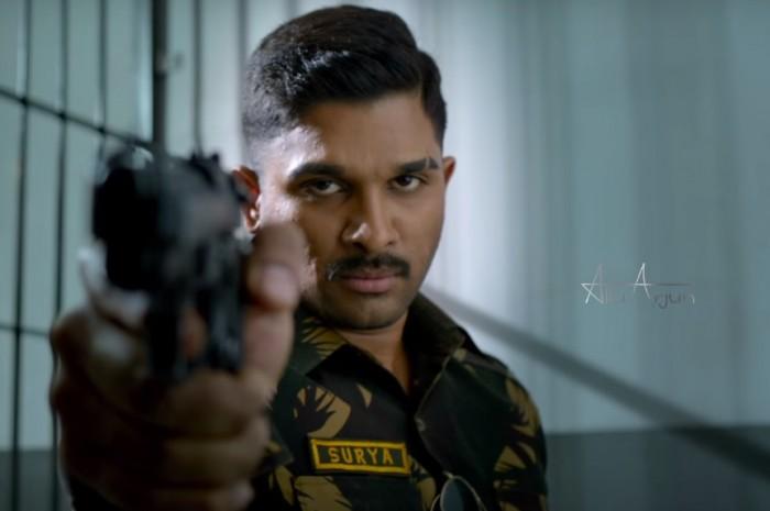 Watch: Teaser of 'Naa Peru Surya' starring Allu Arjun as an armed officer is striking