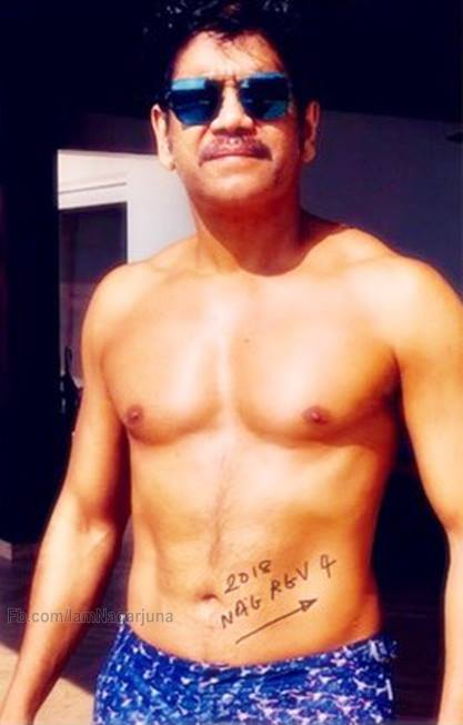 See Pic: Akkineni Nagarjuna shows off his chiselled body giving us serious fitness goals