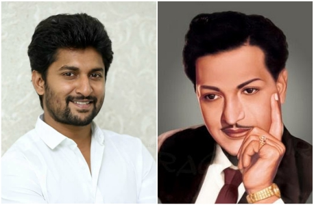 Is actor Nani playing legendary actor NTR in Savitri biopic 'Mahanati'?