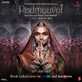 'Padmaavat' released in Telugu states amid tight security