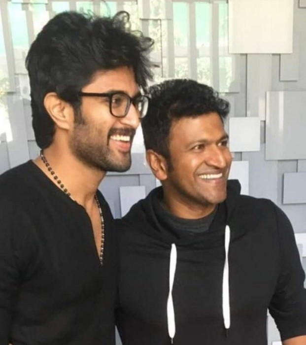 See Pic: Vijay Deverakonda and Puneeth Rajkumar's photo is winning hearts on the internet
