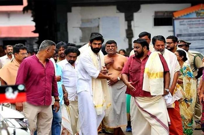 Rana Daggubati starts shooting for his Malayalam debut film titled 'Marthanda Varma'