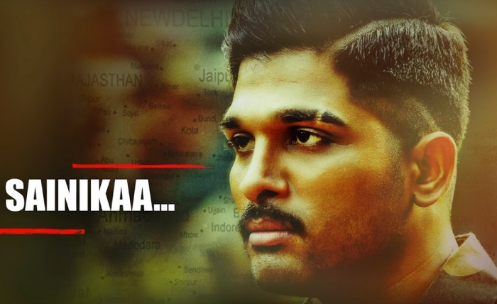 First single 'Sainika' from Allu Arjun's 'Naa Peru Surya' is a tribute to Indian armed forces men