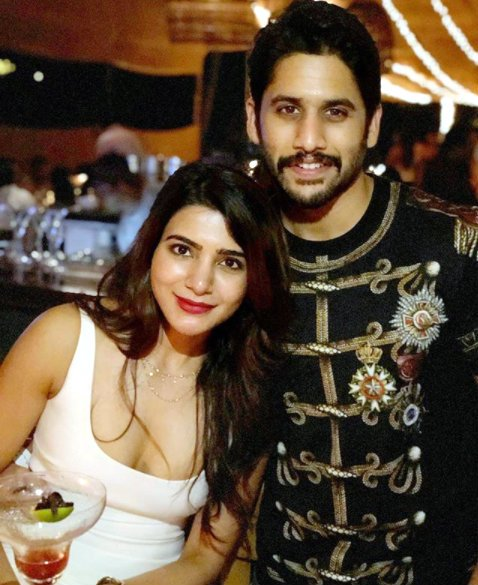 This photo of Samantha Akkineni and Naga Chaitanya will you some couple goals