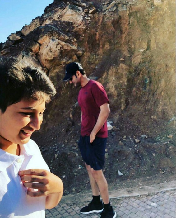 Photos of Mahesh Babu and family holidaying in Oman are delightful