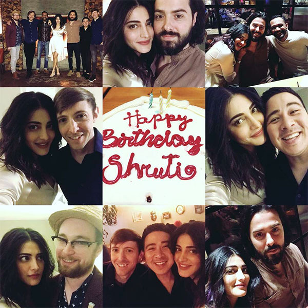 Photos: Here's how Shruti Haasan celebrated her birthday