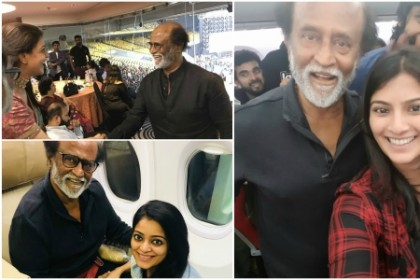 These photos of Kollywood stars with Superstar Rajinikanth show the admiration for him within the industry