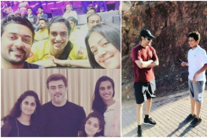 Top Photos of the Week: From Mahesh Babu's family vacation to PV Sindhu meeting Suriya and Ajith's family
