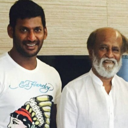 Vishal on Rajinikanth entering politics: I believe he will do good things for the people of Tamil Nadu