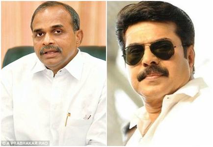 Malayalam megastar Mammootty to be part of biopic on former Chief Minsiter YS Rajasekhar Reddy?