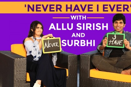 Watch: Allu Sirish and Surbhi give some quirky replies in this fun conversation