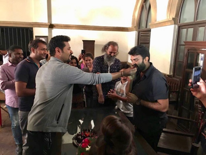 Prabhu Deva gets a gift from the producers of his next film 'Lakshmi' on last day of shoot