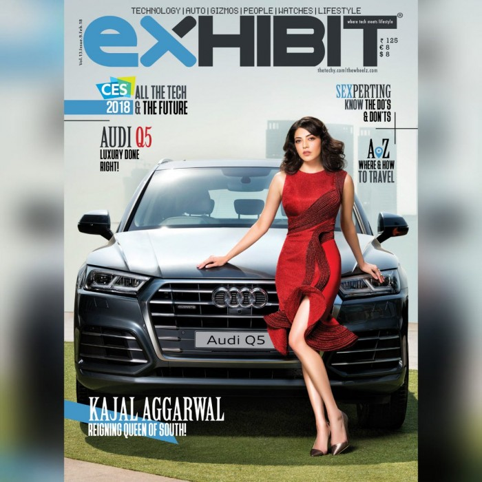 A classy Kajal Aggarwal graces the cover of a leading magazine
