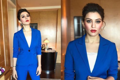 A stunning Hansika gets set to attend an event