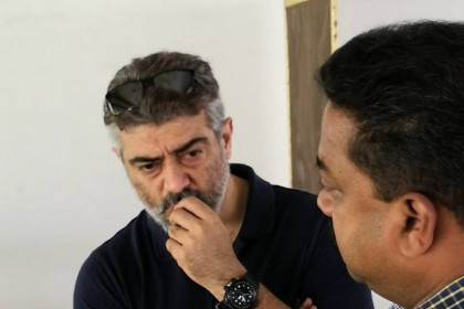 Photos: Ajith Kumar at the Chennai Rifle Club