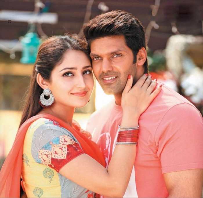 Arya-Sayyeshaa make a wonderful pair in these stills from Ghajinikanth