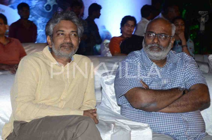 Photos: Anushka Shetty and SS Rajamouli attend the pre-release event of Nani's AWE
