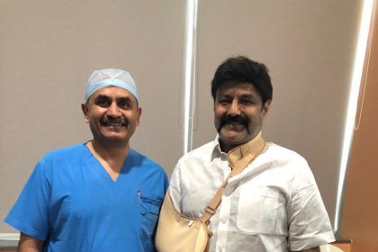 Telugu star Nandamuri Balakrishna undergoes surgery