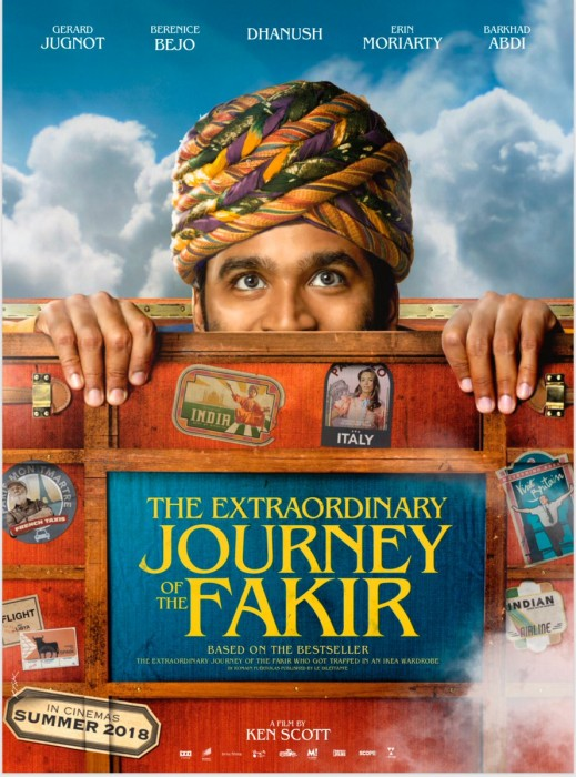 Teaser of Dhanush's debut Hollywood film The extraordinary journey of the Fakir is impressive