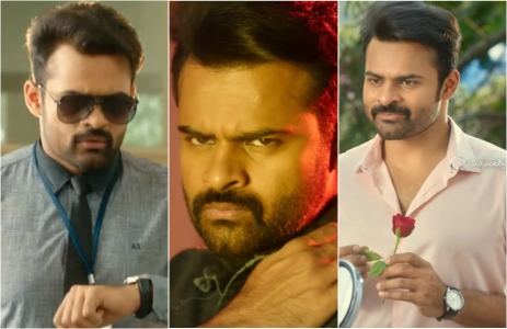 Watch Trailer: Sai Dharam Tej plays a role with multiple shades in his upcoming film 'Intelligent'