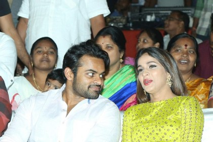 Photos: Sai Dharam Tej and Lavanya attend the pre-release event of Intelligent