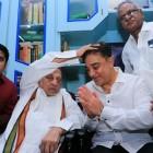 Kamal Haasan begins his political journey, meets APJ Abdul Kalam's brother
