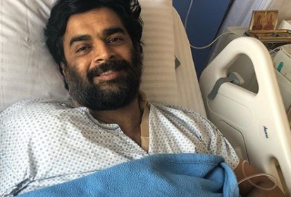 Photo: Madhavan undergoes a successful shoulder surgery