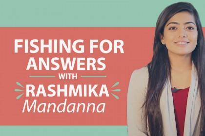Watch Rashmika Mandanna says Rakshit Shetty cannot beat her in being romantic
