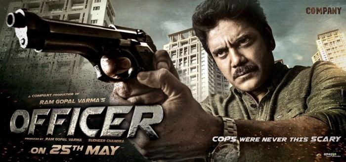 Nagarjuna's film with RGV titled Officer, here's the awesome first look
