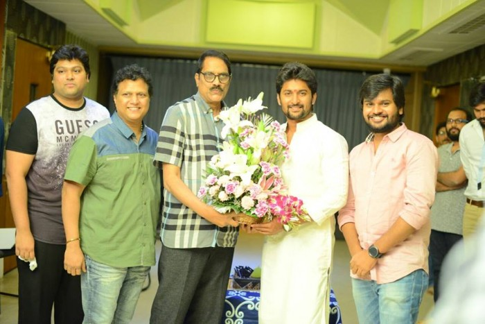Nani and Nagarjuna's multi-starrer to be directed by Sriram Aditya gets launched officially