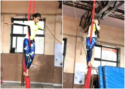 Watch Video: Pooja Hegde gives us major fitness goals with her workout regimen