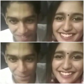Priya Prakash Varrier and Roshan Rahoof re-create the viral WINK scene, watch video