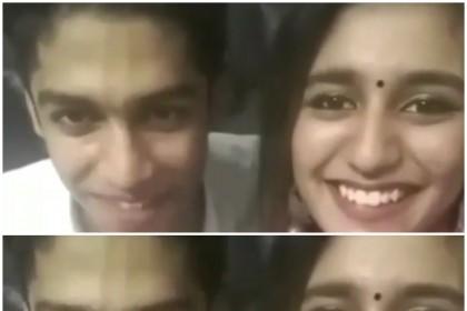 Priya Prakash Varrier and Roshan Rahoof re-create the viral WINK scene, watch video