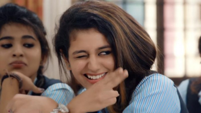 Watch: Oru Adaar Love star Priya Varrier chills at the beach