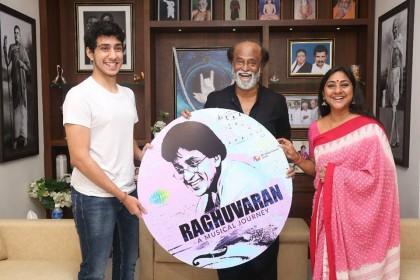 Rajinikanth unveils songs composed by late actor Raghuvaran