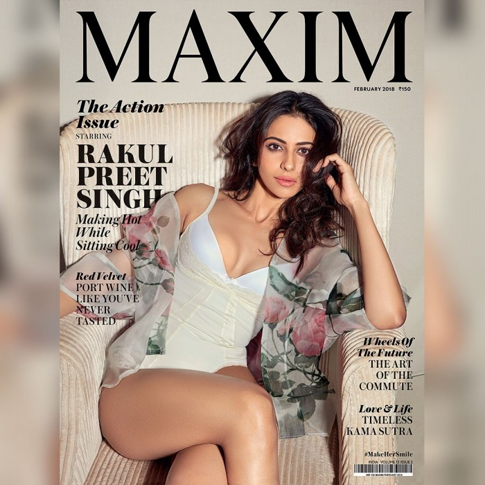 Rakul Preet looks stunning on the cover of a leading magazine