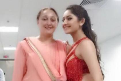 Sayyeshaa's birthday wish for her mother is sweet