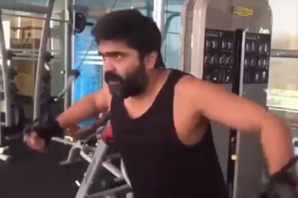 Watch: This video of actor Simbu working out is giving us some serious fitness goals