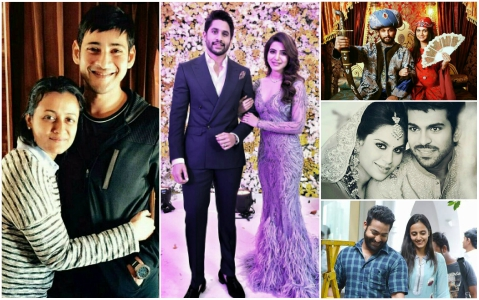 From Mahesh Babu-Namrata to Allu Arjun-Sneha, the uber-famous Tollywood couples of today's generations