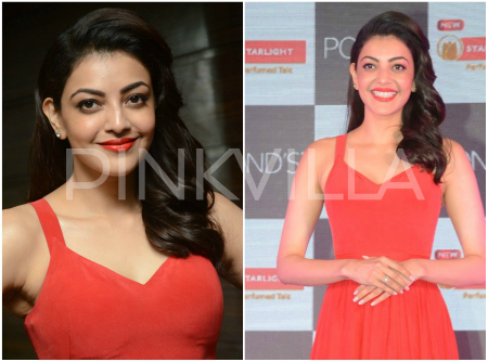 Photos: Kajal Aggarwal looks stunning as she inaugurates a store in Hyderabad