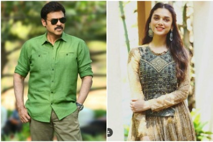 Aditi Rao Hydari signed on as lead for Venkatesh's film with director Teja?